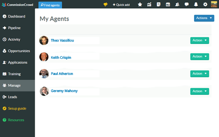 Fully Searchable Database of Sales Agents