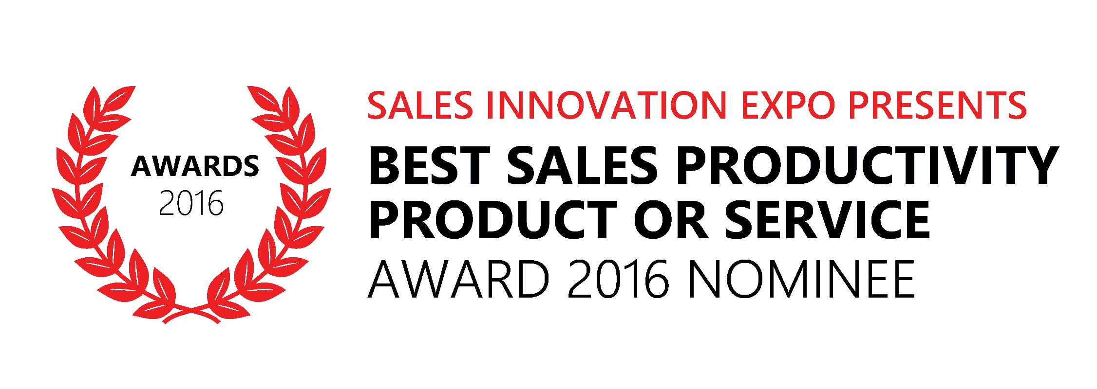 CommissionCrowd Nominated For Best Sales Productivity Product or Service 2016