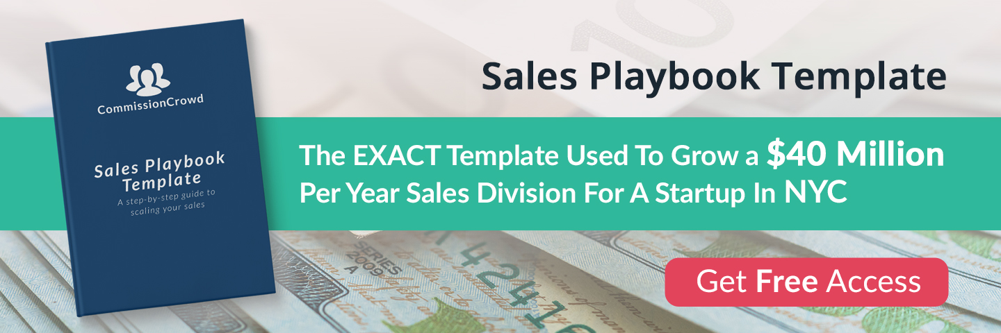 Sales Playbook: The Free Guide That Grew A $40M Independent Sales