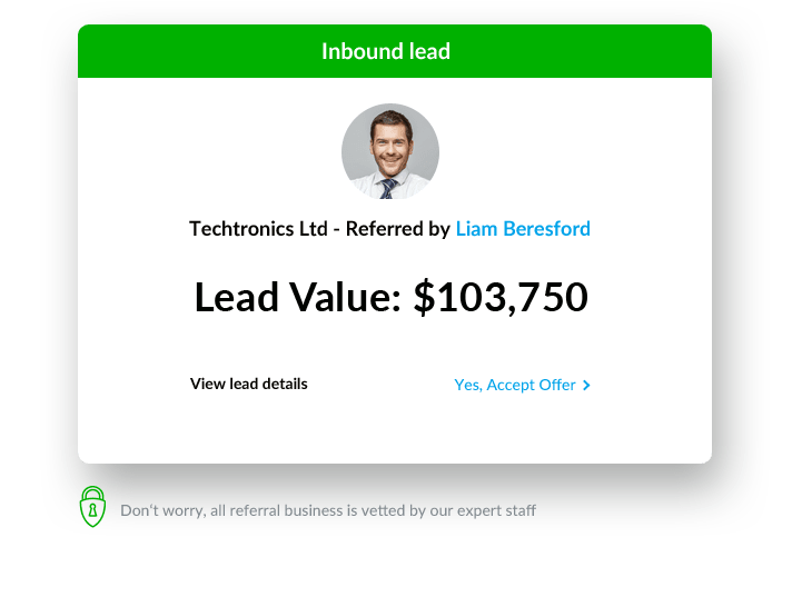 Powerful Lead Generation & Referral Business